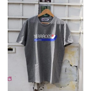 Terraces - ''Stripes'' T-Shirt in Grey