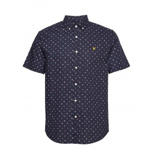 Lyle & Scott - Flag Print Short Sleeve Shirt
