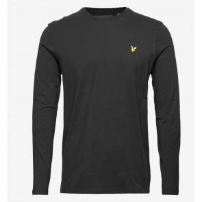 Lyle & Scott - Longsleeve Crew Neck T-Shirt (Black)