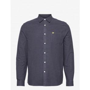 Lyle & Scott - Brushed Cotton Tweed Check Shirt