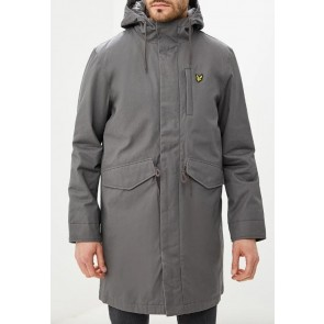 Lyle & Scott - Waxy Parka in Grey