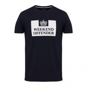 Weekend Offender - Prison T-Shirt (Navy)