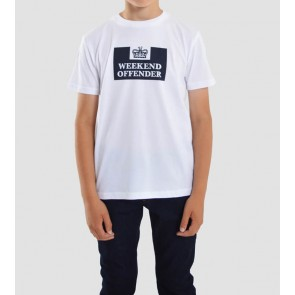 Weekend Offender - Kids Prison T-Shirt (White)